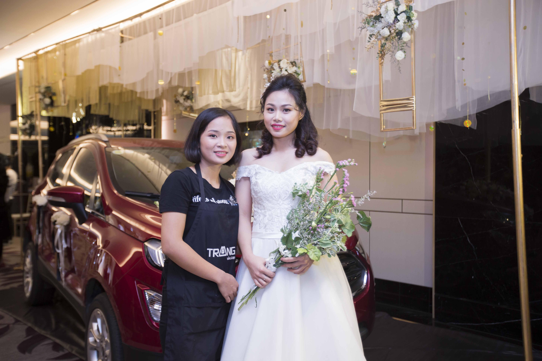 Học trang điểm cô dâu tại hà nội