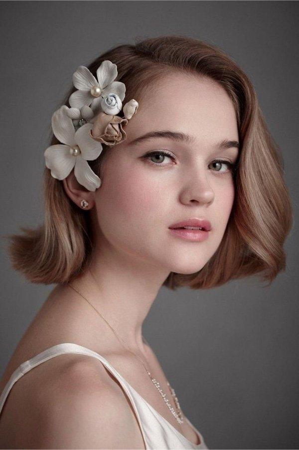 hướng dẫn bới tóc cô dâu